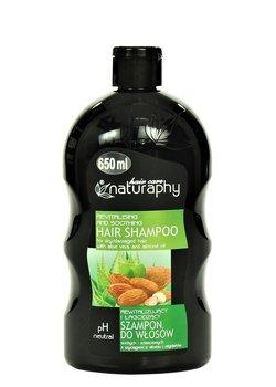 Naturaphy, rewitalizujący szampon z wyciągiem z aloesu i migdałów, 650 ml-Blux Cosmetics