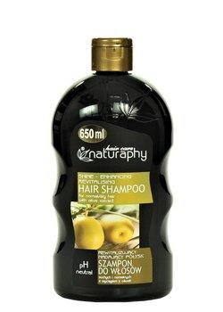 Naturaphy, rewitalizujący szampon z wyciągiem z oliwek, 650 ml-Blux Cosmetics