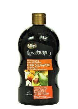 Naturaphy, rewitalizujący szampon z wyciągiem z rumianku i awokado, 650 ml-Blux Cosmetics