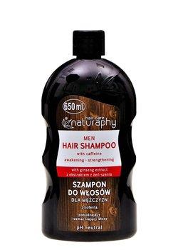 Naturaphy, szampon do włosów dla mężczyzn z kofeiną, 650 ml-Blux Cosmetics