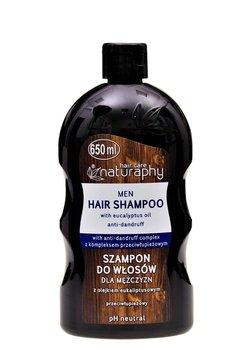 Naturaphy, szampon do włosów dla mężczyzn z olejkiem eukaliptusowym, 650 ml-Blux Cosmetics