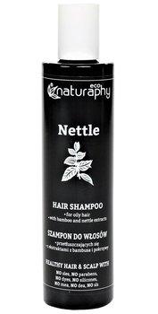 Naturaphy, szampon do włosów z ekstraktami z bambusa i pokrzywy, 250 ml-Blux Cosmetics