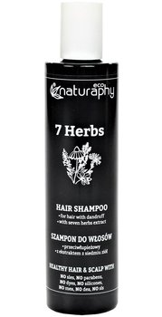 Naturaphy, szampon do włosów z ekstraktem z 7 ziół, 250 ml-Blux Cosmetics