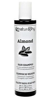 Naturaphy, szampon do włosów z wyciągiem z ryżu i migdałów, 250 ml-Blux Cosmetics