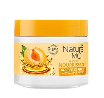 Nature Moi, maska do włosów suchych i zniszczonych z Olejem Arganowym i Morelą, 300 ml-Nature Moi