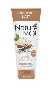 Nature Moi, nawilżające mleczko pod prysznic Intrygujący Ryz, 200 ml-Nature Moi