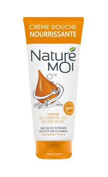 Nature Moi, odżywczy krem pod prysznic Zniewalający Karmel, 200 ml-Nature Moi