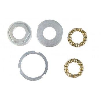 Neco Miski mechanizmu korby, srebrna, 36 mm -Neco