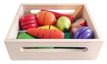 Nefere, warzywa i owoce do krojenia, zestaw-Nefere