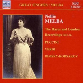 Nellie Melba: Complete Recordings. Volume 4-Melba Nellie