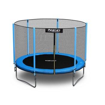 Neo-Sport, trampolina ogrodowa z siatką zewnętrzną,  8ft/252 cm -Neo-Sport