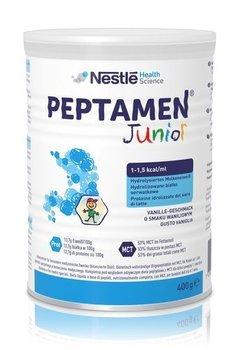 Nestle Health Science, Preparat odżywczy w proszku dla dzieci po 1. roku życia, Peptamen Junior, waniliowy, 400 g-Nestle