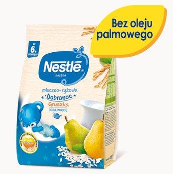 Nestle, Kaszka Dobranoc mleczno-ryżowa gruszka dla niemowląt po 6 miesiącu, 230 g-Nestle