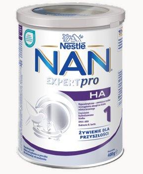 Nestle, Nan Expert Pro HA 1, Hypoalergiczne mleko początkowe dla niemowląt od urodzenia, 400 g-NAN