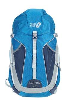 878ad4459f602 Neverland, Plecak trekkingowy, Sirius, 20L, niebieski, rozmiar uniwersalny
