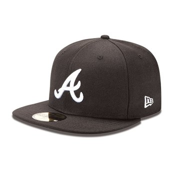 New Era, Czapka, 59FIFTY MLB Atlanta Braves - 10047487, czarny, rozmiar 57 - New Era