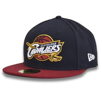 New Era, Czapka baseballówka, 59FIFTY NBA Team Cleveland Cavaliers 11360458, 7 1/4, 57,7 cm-New Era