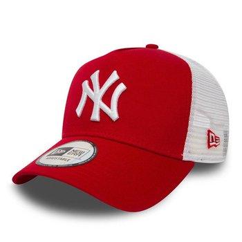 New Era, Czapka baseballówka, New York Yankees Clean A Frame Trucker 11588488-New Era