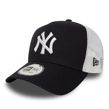 New Era, Czapka baseballówka, New York Yankees Clean A Frame Trucker 11588489 - New Era