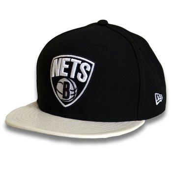 New Era, Czapka z daszkiem bejsbolowa, 59FIFTY NBA Brooklyn Nets, rozmiar 7 1/4-New Era