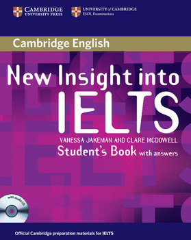 New Insight into Ielts. Student's Book with answers + CD-Jakeman Vanessa, McDowell Clare