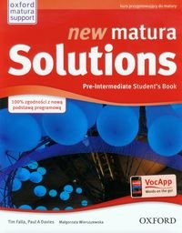 New Matura Solutions. Pre-Intermediate. Student's book-Falla Tim, Davies Paul A.