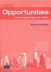 New opportunities elementary. Zeszyt ćwiczeń-Sikorzyńska Anna, Harris Michael, Mower David