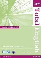 New Total English Pre-Intermediate Teacher's Book and Teacher's Resource CD Pack-Naughton Diane