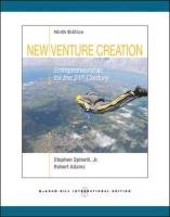 new venture creation With his innovative new venture creation framework, paul burns breaks the venture creation process up into three key phases: research, business model development, and launch at every stage crucial steps and considerations are revealed, providing comprehensive coverage of the subject.