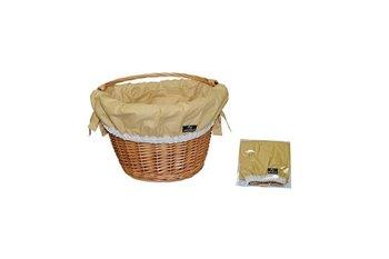 Nexelo, Wkładka do koszyka bawełniana, brązowa-Nexelo