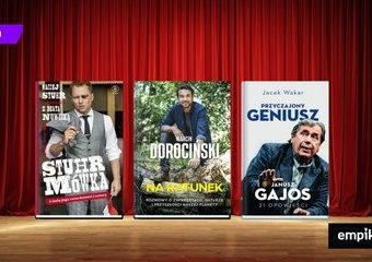 Nie tylko film i teatr - o czym opowiadają aktorzy w książkach?