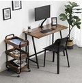 Nieduże biurko w stylu industrialnym, rustykalnym, loft. -Vasagle