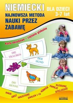 Niemiecki dla dzieci 3-7 lat. Najnowsza metoda nauki przez zabawę-Von Basse Monika, Piechocka-Empel Katarzyna