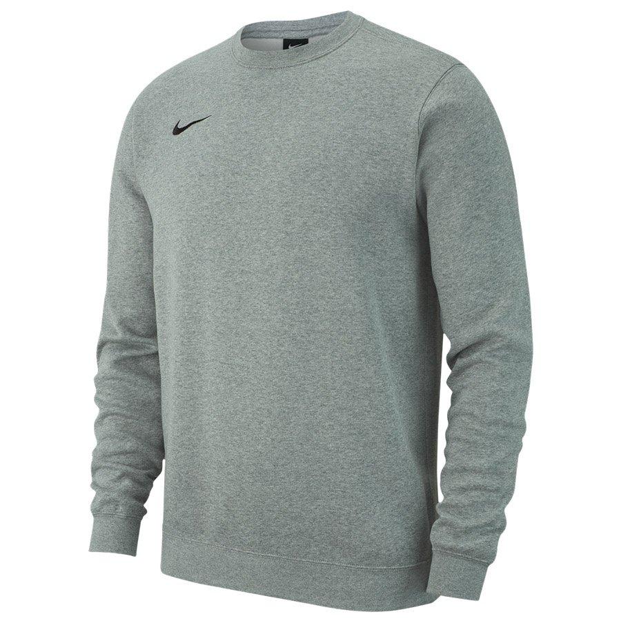 Nike, Bluza męska, Crew FLC TM Club 19, szary, rozmiar XL