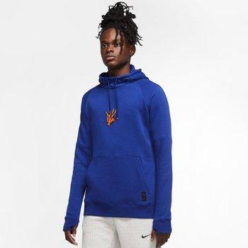 Nike, Bluza męska, FC Barcelona Soccer Hoodie CN0920 455, niebieski, rozmiar L-Nike