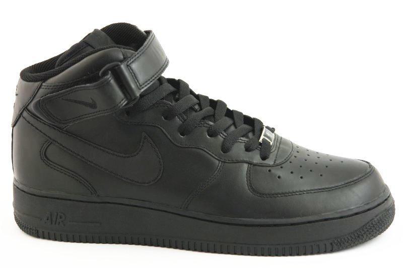 nike air force 1 czarne męskie