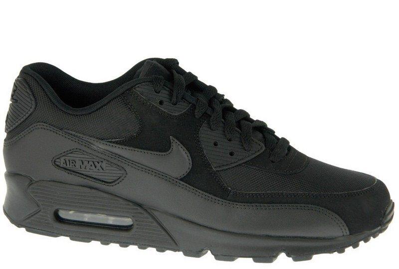 BUTY NIKE AIR MAX 90 czarne adidasy 42