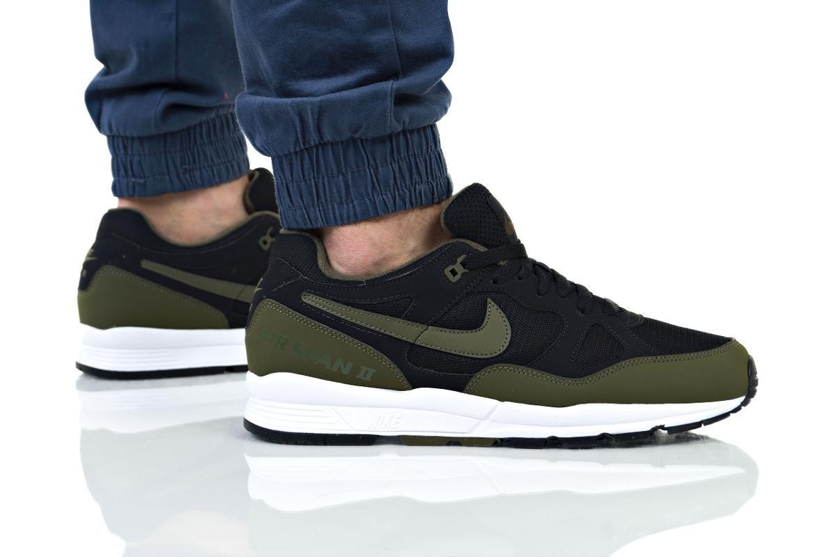 złapać ogromna zniżka nowe tanie Nike, buty męskie, Air Span II, czarny, rozmiar 42 - Nike ...