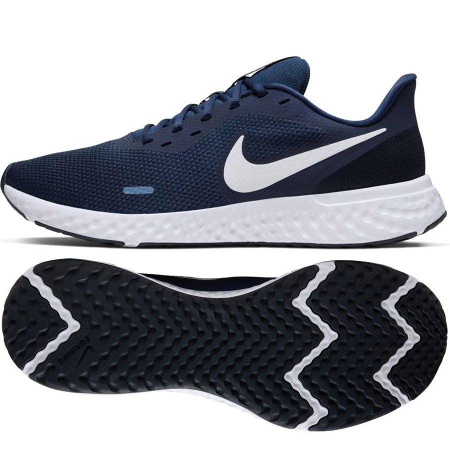 Aplicable diferente curva  Nike, Buty męskie, Revolution 5 BQ3204 400, granatowy, rozmiar 41 - Nike |  Sport Sklep EMPIK.COM