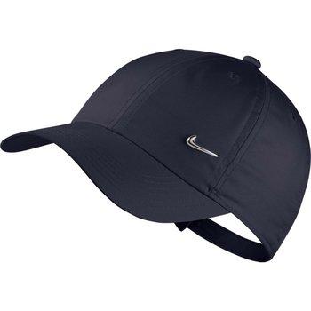 Nike, Czapka z daszkiem, Y NK H86 Cap Metal Swoosh AV8055 451, granatowy, rozmiar uniwersalny-Nike