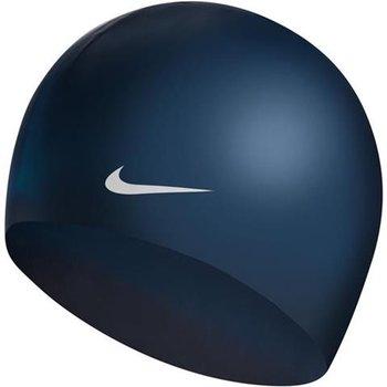 Nike, Czepek pływacki, granatowo-srebrny-Nike