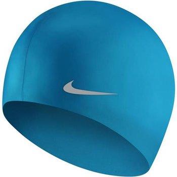 Nike, Czepek pływacki, Youth, niebiesko-srebrny-Nike