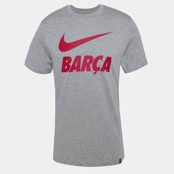 Nike, Koszulka, FC BARCELONA  CD0398 063, szary, rozmiar M-Nike