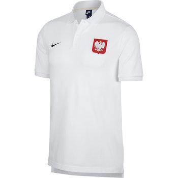 Nike, Koszulka męska, Poland POL M NSW Polo CRE, biała, rozmiar L