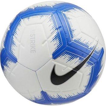 Nike, Piłka nożna, Strike, biało-niebieska, rozmiar 4-Nike