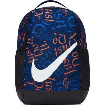 Nike, Plecak sportowy, BA6211 492 Y NK AOP, niebieski, 41x31x15cm-Nike