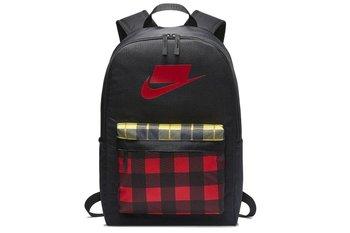 Nike, Plecak sportowy, NK HERITAGE BKPK - 2.0 AOP BA5880-010, czarny, 25L-Nike