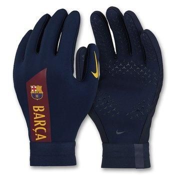 Nike, Rękawiczki junior, FC Barcelona Academy Hyperwarm GS0391 451, rozmiar L-Nike