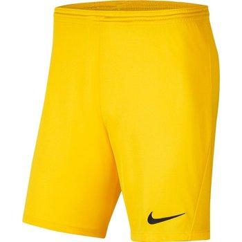 Nike, Spodenki męskie, Park III BV6855 719, żółty, rozmiar S-Nike
