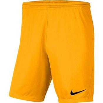 Nike, Spodenki męskie, Park III BV6855 739, złoty, rozmiar L-Nike